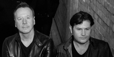 Simple Minds co-founders Jim Kerr and Charlie Burchill